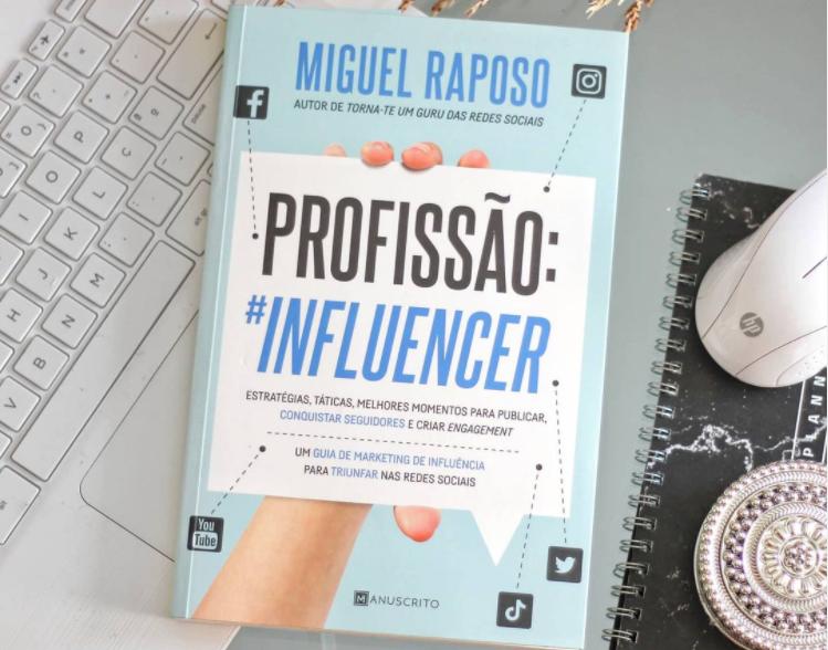 Livro Profissão Influencer